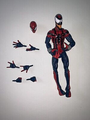 Marvel Legends Ben Reilly Spiderman/Carnage Absorbing Man Wave 100% Complete
