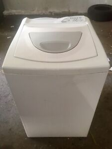 Kenmore Heavy-Duty apartment sizes washer and Haier dryer