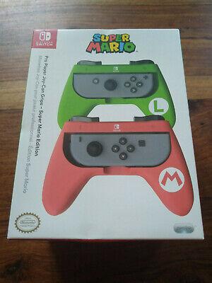 Nintendo Switch Pro Player Joy-Con Grips Super Mario Edition Sealed