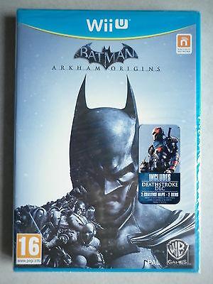 Batman Arkham Origins Jeu Vidéo Wii U