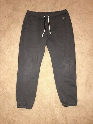 Hollister dark gray sweatpants large