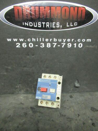 TELEMECANIQUE MANUAL MOTOR STARTER GV1-M14 5 HP @ 460 VAC 3 PH 6 - 10 AMPS