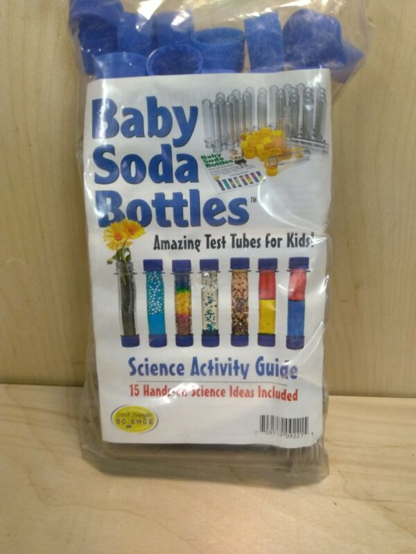 Cache Tube 15 pack Clear Waterproof Storage Container - Baby Soda Bottle