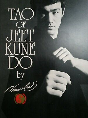 Tao of Jeet Kune Do by Bruce Lee (1975) First Print.