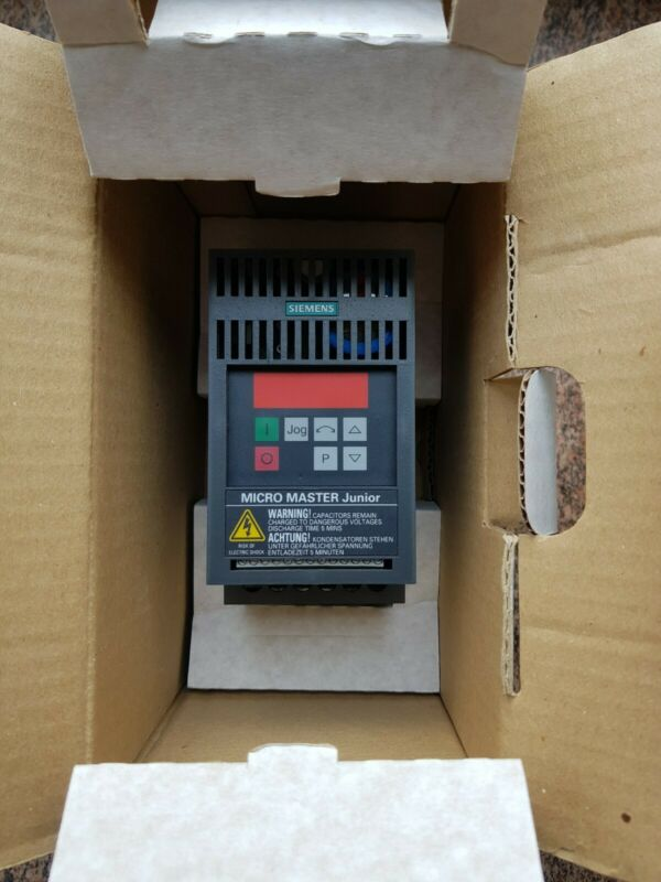 Siemens Micromaster Junior   6SE9112-0BA53   Neu OVP
