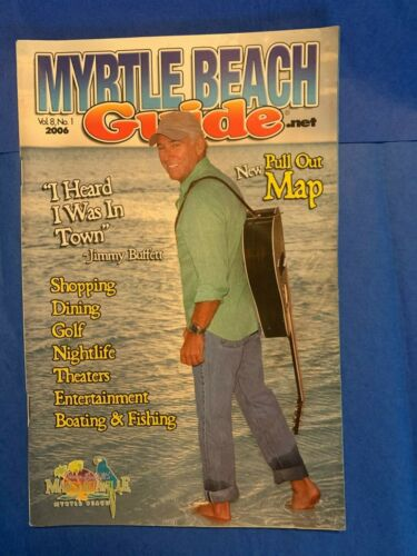 Myrtle Beach Guide 2006 JIMMY BUFFETT Margaritaville Myrtle Beach SC Book new