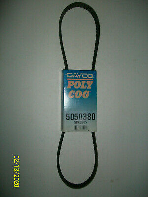DAYCO POLY COG Ribbed Serpentine Belt 5050380 5PK0965 Made In Canada