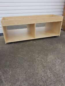 NEW IN BOX BELEDUC TODDLER STORAGE SHELF WITH CASTORS