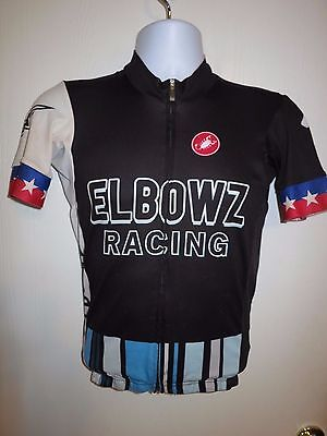 1f09f11ae CASTELLI Aero Race 4.0 ELBOWZ Racing Team SS Cycling Jersey Medium USA  Champion