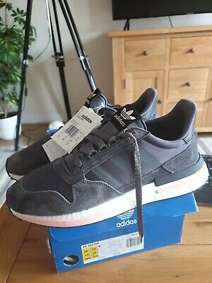 Adidas ZX 500 RM Boost Size 10 Grey RRP £120 Brand New
