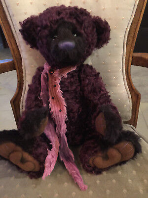Charlie Bears MARPLES 2013 Part 2 Isabelle Mohair Collection FREE US SHIP