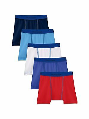 Fruit of the Loom Toddler Boys 5 Pack Stretch Boxer Brief Assorted 4T / 5T