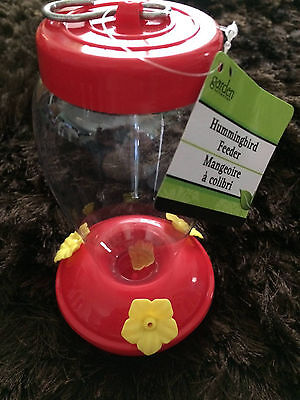 The BEST *Red Plastic Hummingbird Feeder *U Will Ever Have! Easy 2 Clean too!