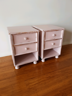 Twin Bedside Tables