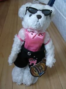 Collectable 1950's poodle skirt bear