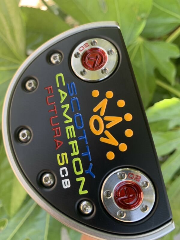 Scotty Cameron Putter CCK Mid Mallet with Leather Stitch Grip 2017
