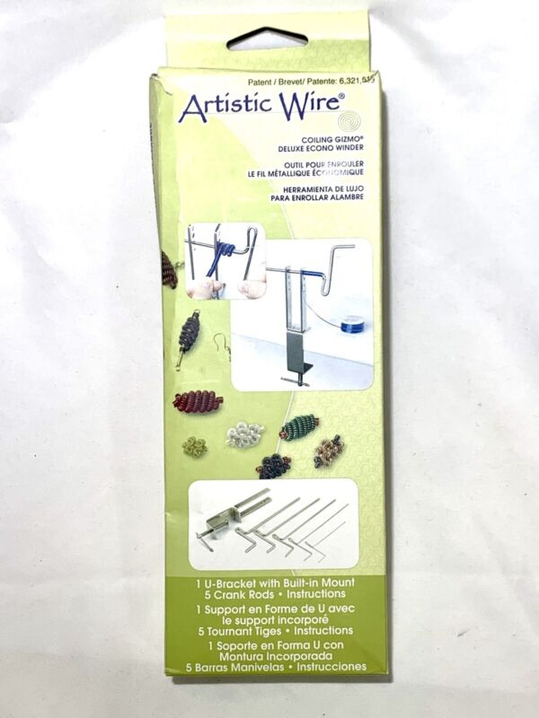 Artistic Wire JTECONWIN1 Coiling Gizmo(R) Deluxe Winder for Jewelry Making - NEW