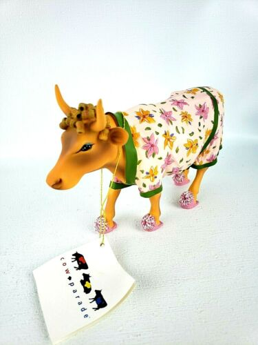 Cow Parade Early Show Figurine by Westland Giftware #9129 2000 With Box