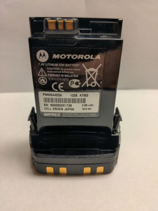 OEM PMNN4403A IMPRES Battery For Motorola APX6000 APX6000XE Portable