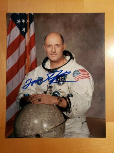 HAND SIGNED 8x10 Tom Stafford hand signed APOLLO WSS Portrait w/ 100% PROOF !
