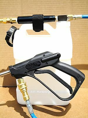 Carpet Cleaning - High Pressure In-line Sprayer W7qt Bottle Longer Hose