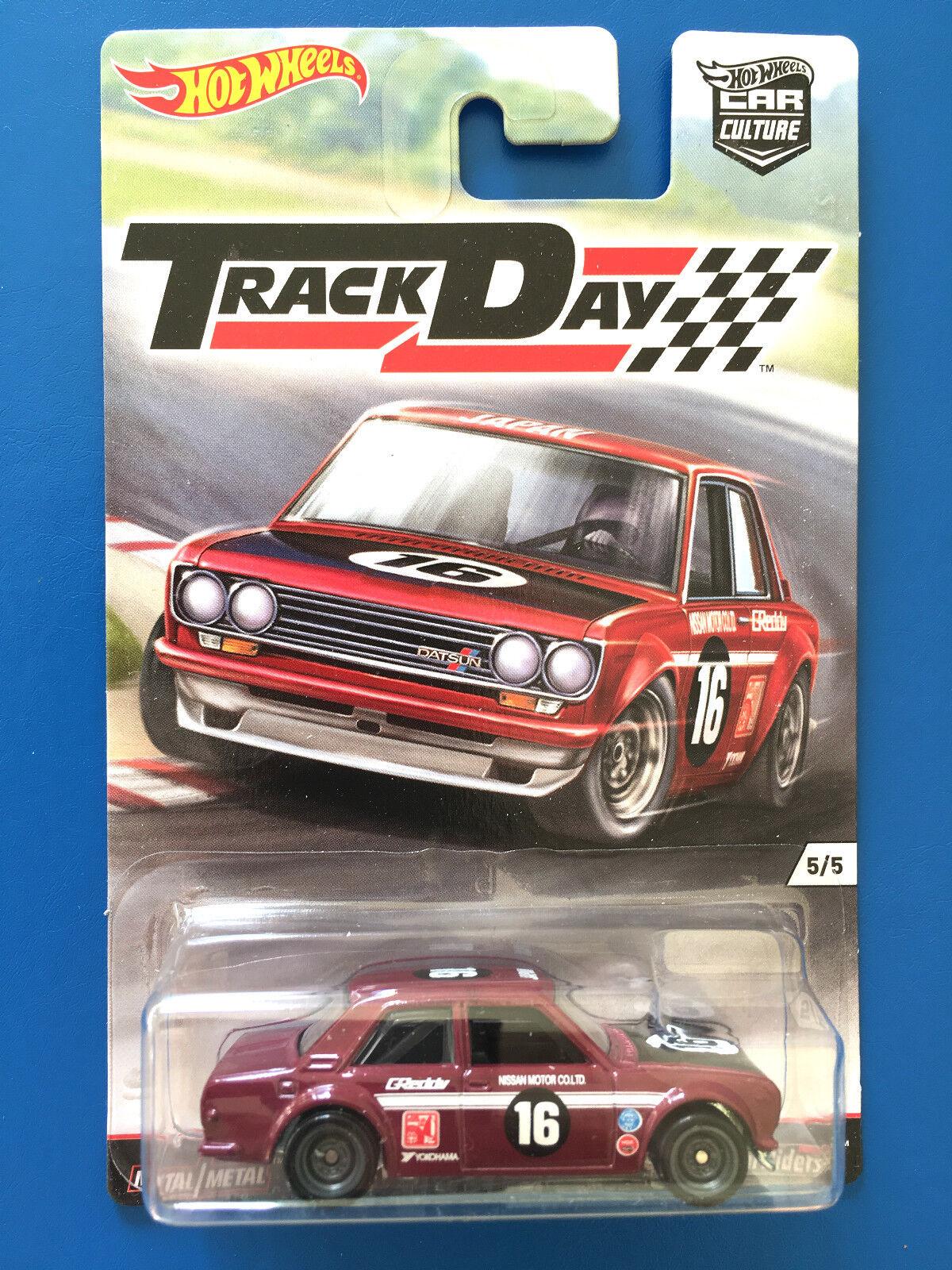 2016 Hot Wheels Car Culture TRACK DAY 1969 DATSUN BLUEBIRD ...