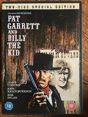 Pat Garrett and Billy the Kid DVD 1973 Western Classic 2-Disc Special