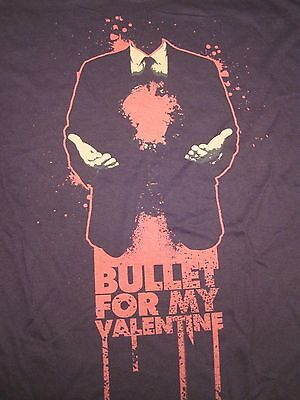 Bullet For My Valentine, Headless, Suit Tie Guy, Black, Short Sleeve, Shirt XL - Suits For Guys