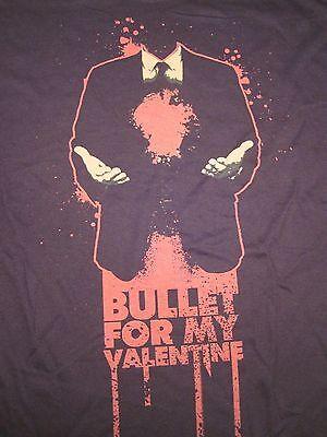Bullet For My Valentine, Headless, Suit Tie Guy, Black, Short Sleeve, Shirt XL