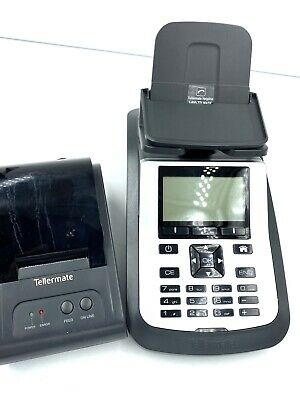 New Tellermate T-ix 4500 Currency Counter Scale Money Counting Machine Printer