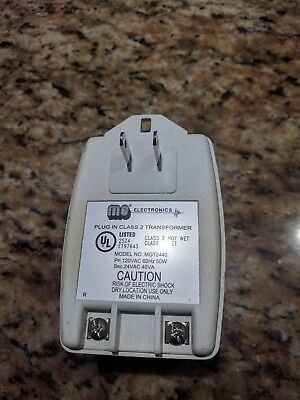 Class Ii Transformer - 24 Volt Ac 40 Va Mgt-2440 Alarm Security Power Supply