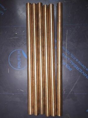 Copper Tungsten Rod 58 Dia X 12