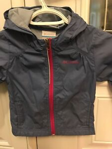 2T Columbia girls rain jacket