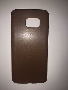 SAMSUNG S7 EDGE LEATHER LIKE CASE BRAND NEW