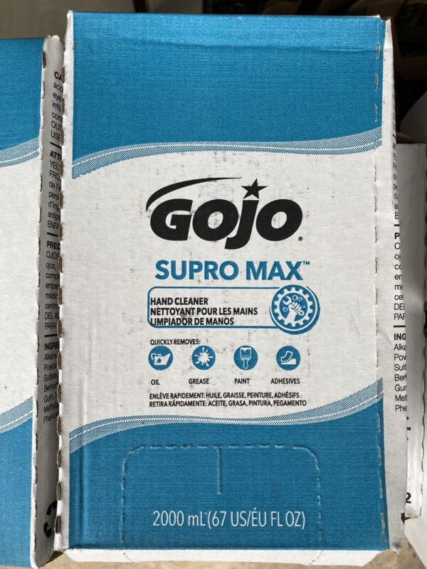 GOJO SUPRO MAX Hand Cleaner - 4 2000ml Boxes