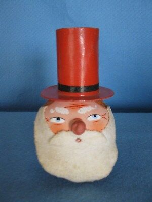 ANTIQUE GERMAN PAPER MACHE UNCLE SAM CANDY CONTAINER/BOX WITH NOISE MAKER ()