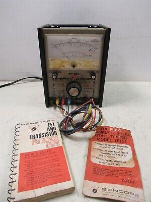 Sencore Tf151 Fet Transistor Tester W Probes