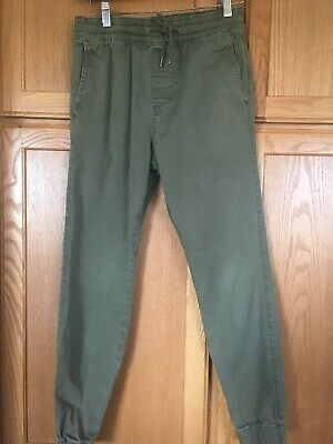 Hollister Skinny Jogger Pant Size S Women's Military Green