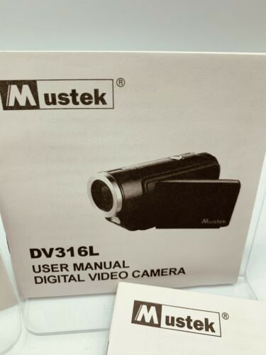 Mustek Digital Camera 6 In 1 DV316L User Manual Installation CD-ROM Disc Only - $9.95