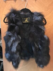 REAL fur vest - small