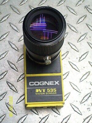 Cognex Dvt535 Vision Sensor With Computar Telecentric 55mm Lens