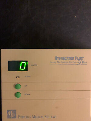 Conmed Hyfrecator 7-797 Electrosurgical Unit No Hand Piece 30 Day Warranty