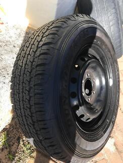 Ford ranger spare wheel