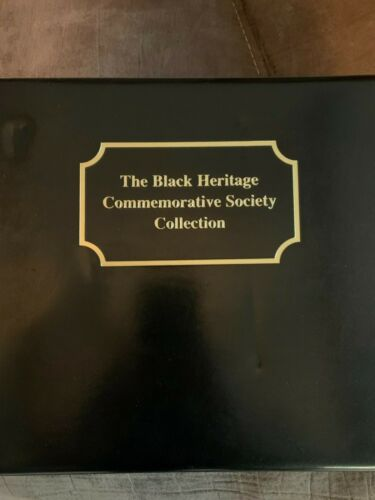 Vintage The Black Heritage Commemorative Society (28) Stamp Collection