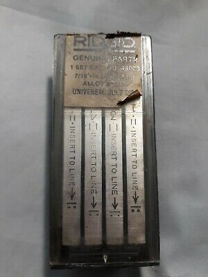 Ridgid 48000 716 - 14 Unc Rh Alloy Steel Universal Bolt Dies