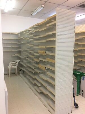 Retail Store Shelving 4 Foot Sections Palm Beach Gardens Florida Pickup Only
