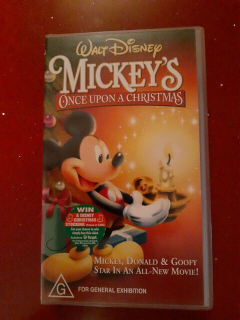 Walt Disneys Mickeys Once Upon A Christmas Vhs Brand New And Sealed Cds Dvds Gumtree Australia Canterbury Area Canterbury 1256256842
