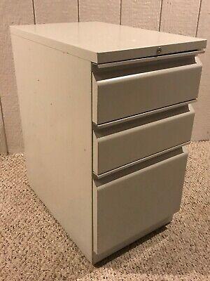 Hon 3 Drawer Mobile Pedestal File Cabinet