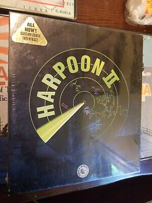 Harpoon II 2 PC 1994 Complete IBM PC Compatible 3.5 HD Disks Rare Vintage Game
