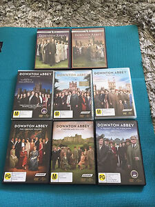 Downton Abbey DVDs Pyrmont Inner Sydney Preview